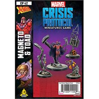 Marvel Crisis Protocol Magneto/Toad Exp Utvidelse til Marvel Crisis Protocol