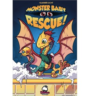 Monster Baby Rescue Brettspill
