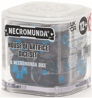 Necromunda Dice House of Artifice Necromunda Underhive