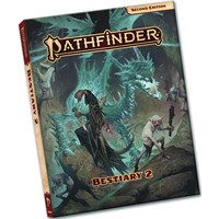 Pathfinder 2nd Ed Bestiary 2 Pocket Second Edition RPG - Pocket Edition