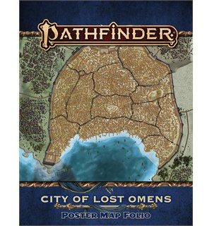 Pathfinder Map Folio City of Lost Omens