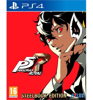 Persona 5 Royal Launch Edition PS4 Steelbook + Dynamisk PS4 Theme