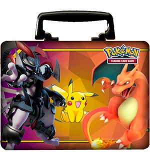 Pokemon Collector Chest Fall 2019 Armored Mewtwo, Pikacu og Charizard!