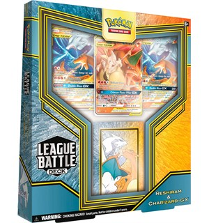 Pokemon League Battle Deck Reshiram/Char Reshiram & Charizard GX