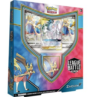 Pokemon League Battle Deck Zacian V