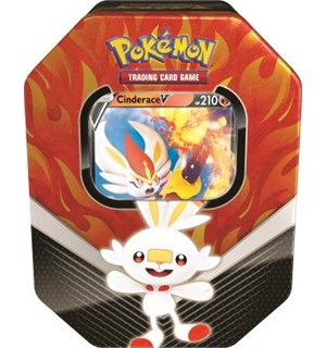 Pokemon Tin Galar Partners Cinderace V Spring 2020 Collector's Tin Box