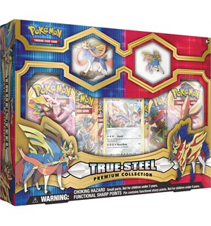 Pokemon True Steel Premium Box Zacian Premium Collection
