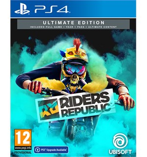 Riders Republic Ultimate Edition PS4 Year One Season Pass + Ultimate Pack