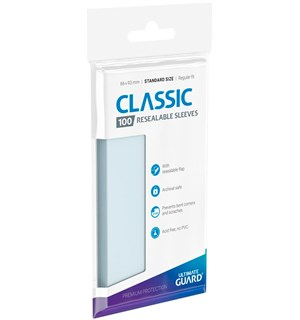 Sleeves Resealable Classic x100 66x93 Ultimate Guard DeckProtector