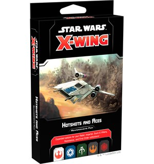 Star Wars X-Wing Hotshots Aces Expansion Utvidelse til Star Wars X-Wing 2nd Ed