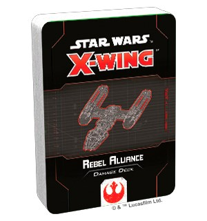Star Wars X-Wing Rebel Alliance Deck Damage Deck til X-Wing Second Edition