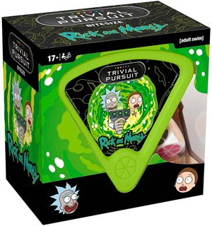 Trivial Pursuit Rick & Morty Brettspill