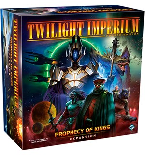 Twilight Imperium Prophecy of Kings Exp Utvidelse
