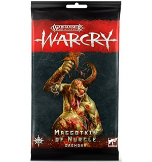 Warcry Cards Maggotkin of Nurgle Daemons Warhammer Age of Sigmar