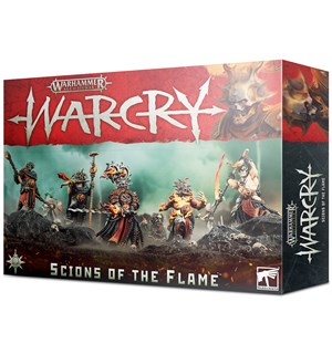 Warcry Warband Scions of the Flame Warhammer Age of Sigmar
