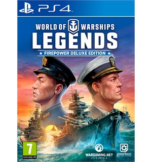 World of Warships Legends PS4 Firepower Deluxe Edition