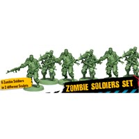 Zombicide 2nd Edition Zombie Soldier Kit Zombie Soldiers Set for 2nd Edition