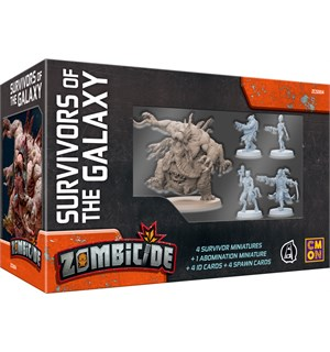 Zombicide Survivors of the Galaxy exp. Utvidelse til Zombicide Invaders