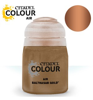Airbrush Paint Balthasar Gold 24ml Maling til Airbrush