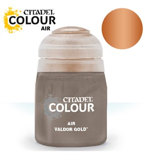 Airbrush Paint Valdor Gold 24ml Maling til Airbrush