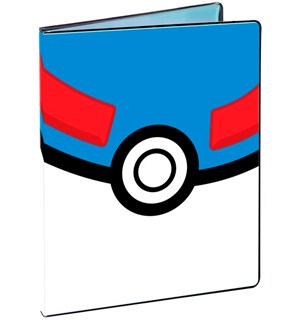 Album Pokemon Great Pokeball 9 Pocket Ultra Pro Binder - Plass til 180 kort