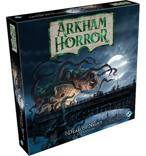 Arkham Horror Dead of Night Expansion Utvidelse Arkham Horror Third Edition