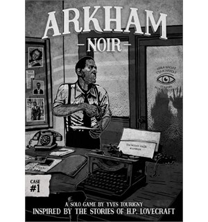 Arkham Noir Case 1 Brettspill The Witch Cult Murders