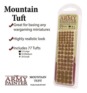Army Painter Mountain Tuft Battlefields XP 4227