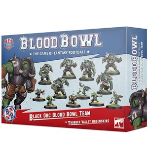 Blood Bowl Team Black Orc The Thunder Valley Greenskins