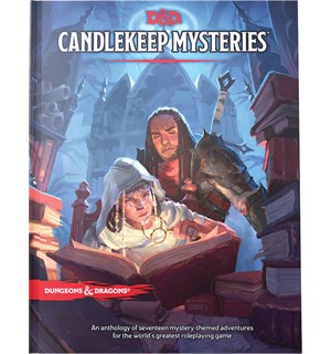 D&D Adventure Candlekeep Mysteries Dungeons & Dragons Scenario Level 1-16