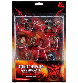 D&D Figur Icons Arkhan & The Dark Order Icons of the Realms - Arkham the Cruel