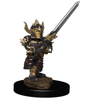 D&D Figur Icons Halfling Fighter Male Icons of the Realm Premium Figures