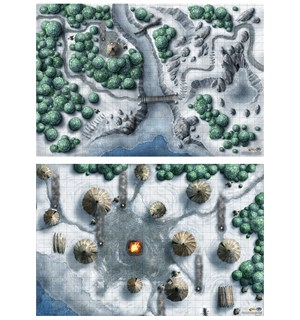 D&D Maps Icewind Dale Encounters (2 stk) Dungeons & Dragons