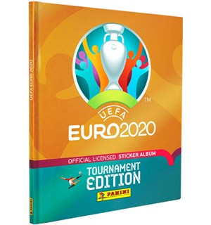 EURO 2021 Sticker Starter Pack Album + 5 boosterpakker