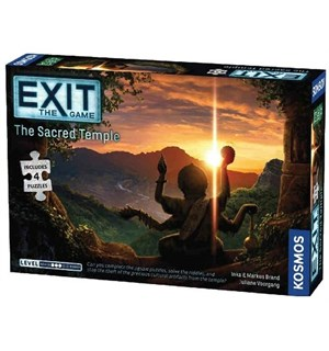 EXIT The Sacred Temple Puslespill Escape Room Puzzle