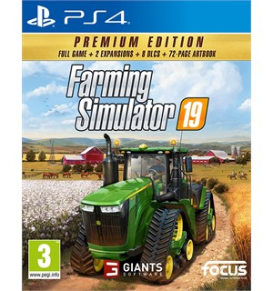 Farming Simulator 19 Premium Ed PS4