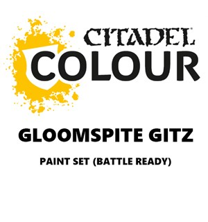 Gloomspite Gitz Paint Set Battle Ready Paint Set for din hær