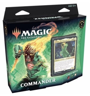 Magic Commander Lands Wrath Zendikar Rising
