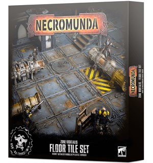 Necromunda Floor Tile Set Zone Mortalis