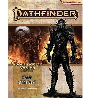 Pathfinder 2nd Ed Abomination Vault Vol2 Hands of the Devil - Adventure