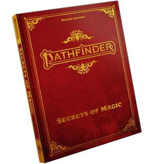Pathfinder 2nd Ed Secrets of Magic SE Second Edition RPG - Special Edition