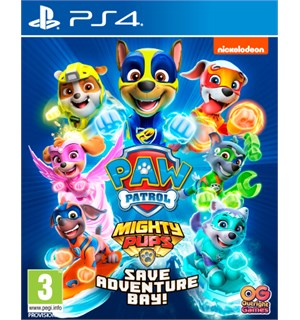 Paw Patrol Mighty Pups PS4 Save Adventure Bay