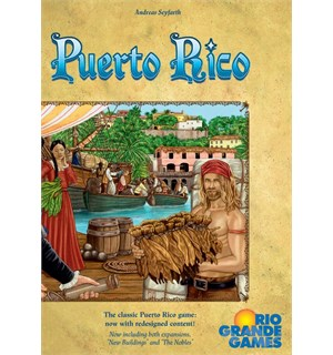 Puerto Rico Deluxe Edition Brettspill