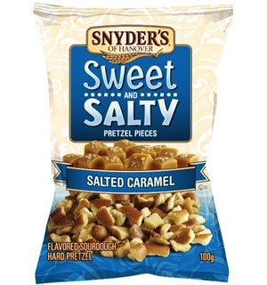 Snyders Salted Caramel Preztel 100g Sweet & Salty Pretzel Pieces