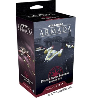 Star Wars Armada Republic Fighter Exp Utvidelse Star Wars Armada - Squadrons