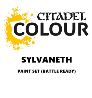 Sylvaneth Paint Set Battle Ready Paint Set for din hær