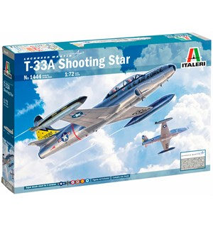 T-33A Shooting Star Italeri 1:72 Byggesett