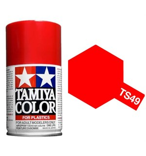 Tamiya Airspray TS-49 Bright Red Tamiya 85049 - 100ml