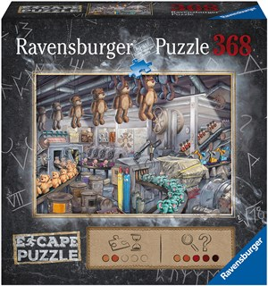 Toy Factory 368 biter Puslespill Ravensburger Escape Room Puzzle