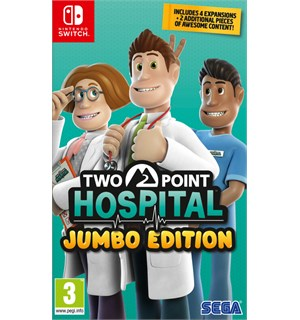 Two Point Hospital Jumbo Edition Switch